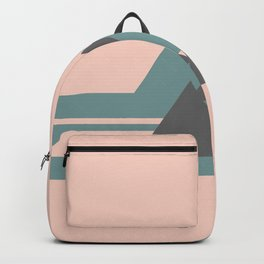 Peak Pink Grey Backpack