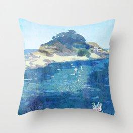 The Niemon Island Throw Pillow