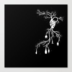 Looking for Collection - Heart Canvas Print