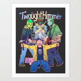 Twaughthammer - Breaking Bad Art Print
