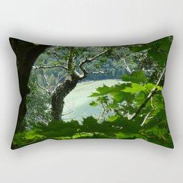 Willoughby Lake Rectangular Pillow