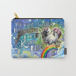 Majestic Unicorn Carry-All Pouch