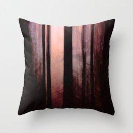 Pink dawn Throw Pillow