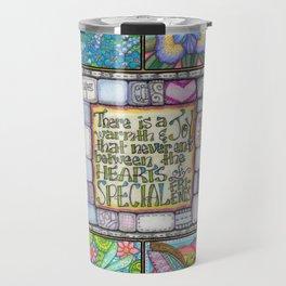My Patchwork Friendship Squares Travel Mug