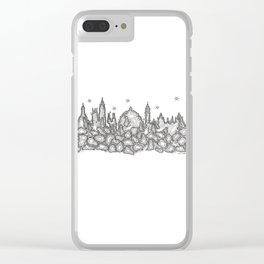 Oxford Skyline Histology Slide Clear iPhone Case