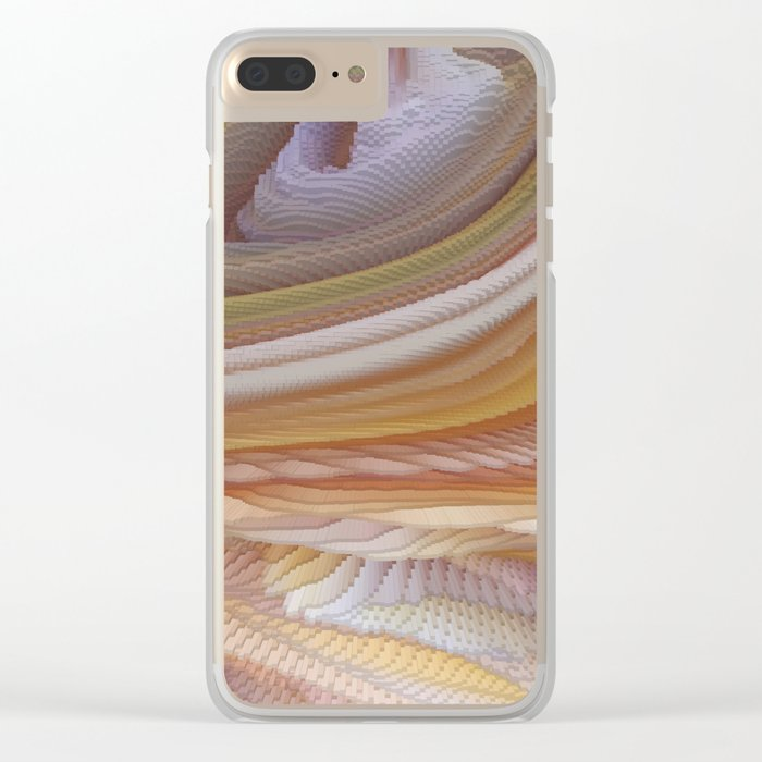 Abstract painting 123 Clear iPhone Case