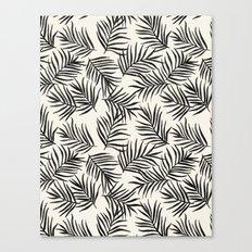 Pam Leaves Canvas Print