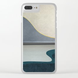 Minimal Landscape 05 Clear iPhone Case