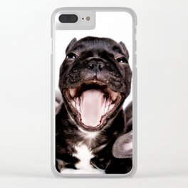 It's a Ruff life being a Puppy! Clear iPhone Case
