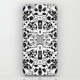 Walking on Egg Shells B&W iPhone Skin