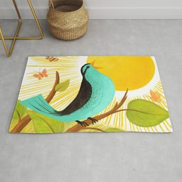 Early To Rise Rug