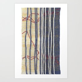 Yarns: Family ties Art Print
