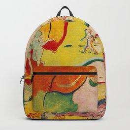 Henri Matisse - Le bonheur de Vivre (The Joy of Life) portrait painting Backpack