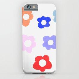 Pop Flowers iPhone Case