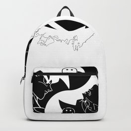 YingYang Goku Black Dragon Ball Backpack