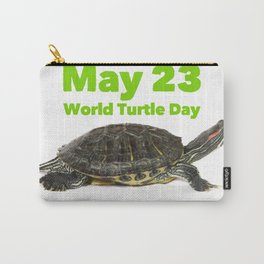 World Turtle Day - May 23 Carry-All Pouch