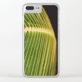 Art of the leaf Clear iPhone Case