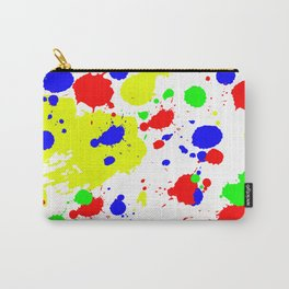 Colorful Paint Splatter. Carry-All Pouch