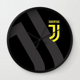 JUVENTUS Black Wall Clock