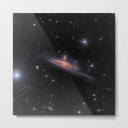 1567. Galaxies in the River Metal Print