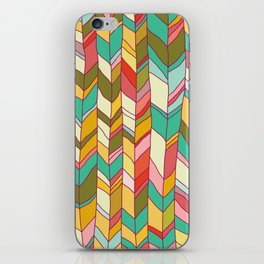 Knitted Pattern iPhone Skin