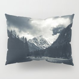 Darkness and rain at Zgornje Jezersko, Slovenia Pillow Sham