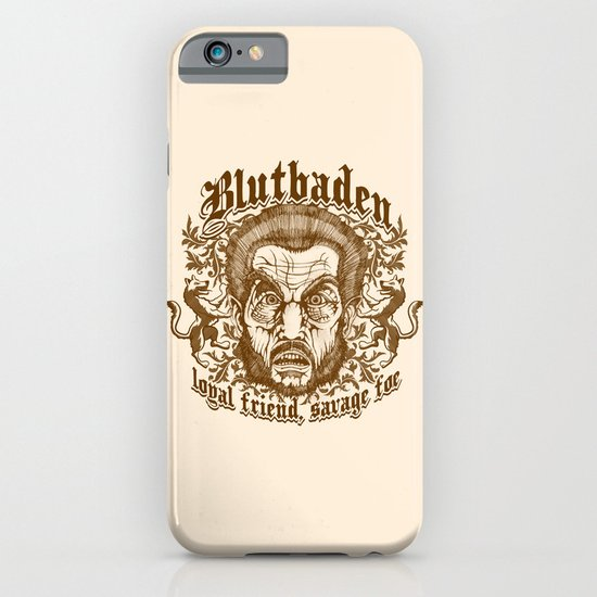 Blutbaden Sepia iPhone & iPod Case