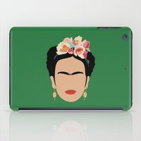 frida iPad Cases featuring frida by Live It Up