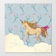 rainbow unicon Canvas Print