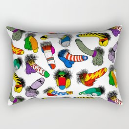 Superhero Weenies Rectangular Pillow