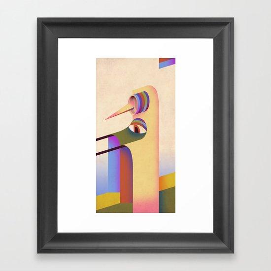 Figure #1 Framed Art Print