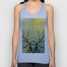 Unknown Ghost of the Forest Unisex Tank Top