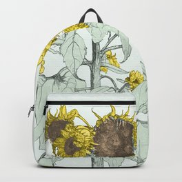 The sunflower brigade Backpack