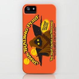 Jawa Trading Post iPhone Case