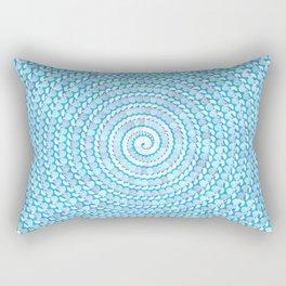 Seashell Spiral Rectangular Pillow
