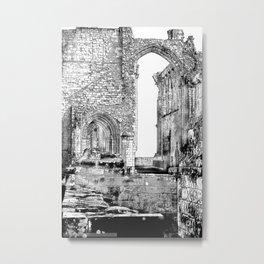 Furness Abbey Details Metal Print