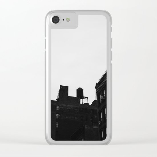 Chelsea Architecture II Clear iPhone Case