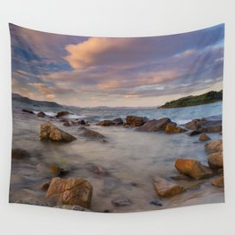 Colourful Ocean Scene Wall Tapestry
