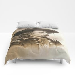 General George Armstrong Custer 1860 Comforters