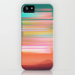 Subsonic Sunset iPhone Case