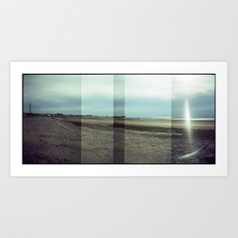 Morecambe Panorama Art Print