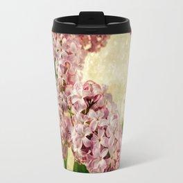 Vintage Lilacs in Bloom Travel Mug