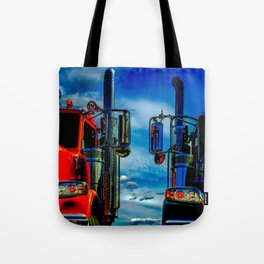Trucking Tote Bag