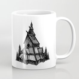 Borgund Stave Church Coffee Mug