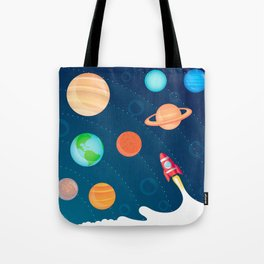 Space Foam Tote Bag