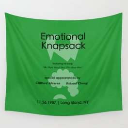 Emotional Knapsack - Friends Wall Tapestry