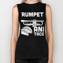 Trumpets And Tacos | Marching Band Biker Tank