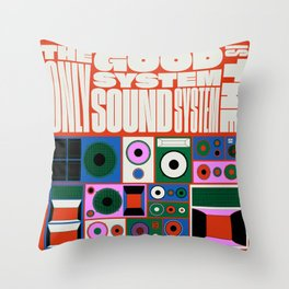 the only good system is the sound system Throw Pillow
