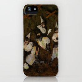 Wires Crossed II iPhone Case