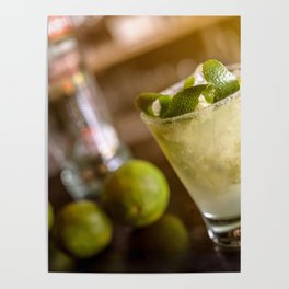 Cocktail drink Poster